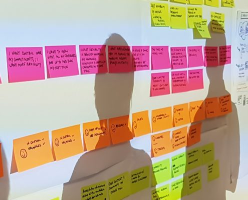 training journey mapping customer experience
