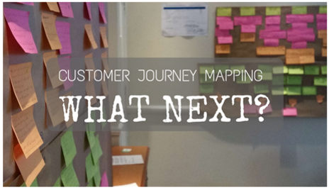 Customer journey mapping process