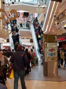 shopping centre customer experiences