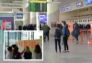 airport passenger experience journey mapping